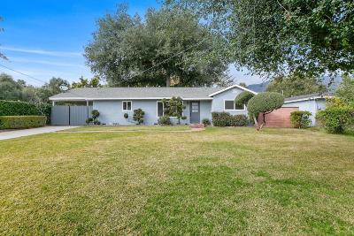Monrovia Single Family Home For Sale: 1143 Orange Avenue