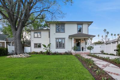 Pasadena Single Family Home For Sale: 639 South Los Robles Avenue