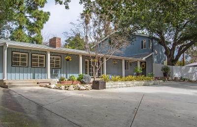 La Crescenta Single Family Home For Sale: 3719 Encinal Avenue