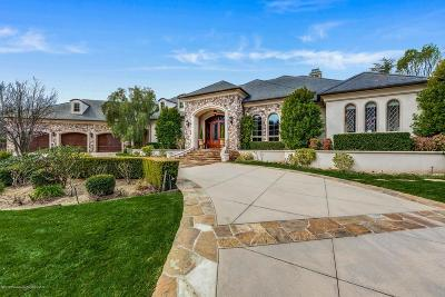 La Canada Flintridge Single Family Home For Sale: 4321 Chula Senda Lane