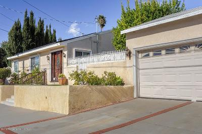 La Crescenta Single Family Home For Sale: 3159 Altura Avenue