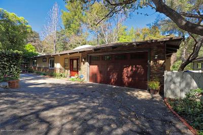 La Canada Flintridge Single Family Home For Sale: 1015 Flintridge Avenue