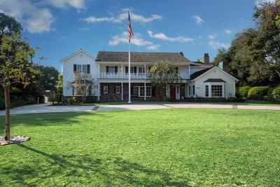 Pasadena Single Family Home For Sale: 829 Madre Street