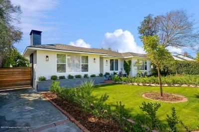 Altadena Single Family Home Active Under Contract: 1712 Midwick Drive