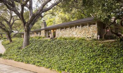 Pasadena Single Family Home For Sale: 895 Canon Drive