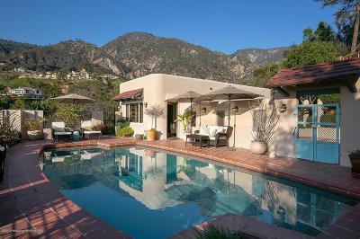 Pasadena Single Family Home For Sale: 2070 Kinneloa Canyon Road