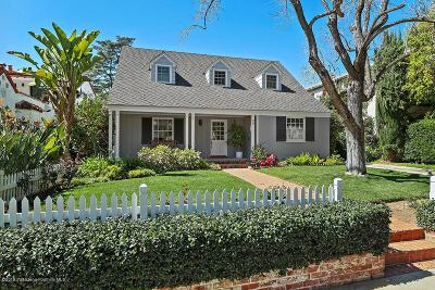 Pasadena Single Family Home For Sale: 99 Annandale Road