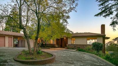 Altadena Single Family Home For Sale: 1575 East Loma Alta Drive