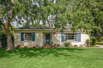 San Gabriel Single Family Home For Sale: 807 West Roses Road