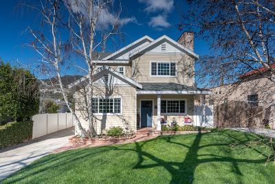 Glendale Single Family Home For Sale: 3429 Rosemary Avenue