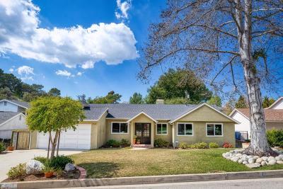 La Canada Flintridge Single Family Home For Sale: 4525 Alcorn Drive