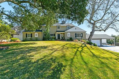 La Canada Flintridge Single Family Home For Sale: 5210 La Canada Boulevard
