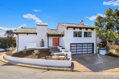 Los Angeles Single Family Home For Sale: 3611 Verdugo Vista Terrace
