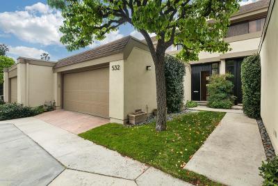 Pasadena Condo/Townhouse Active Under Contract: 201 North Orange Grove Boulevard #532