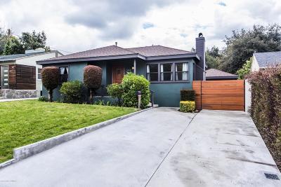 Altadena Single Family Home For Sale: 2814 Grandeur Avenue