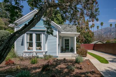 Pasadena Single Family Home For Sale: 385 Atchison Street