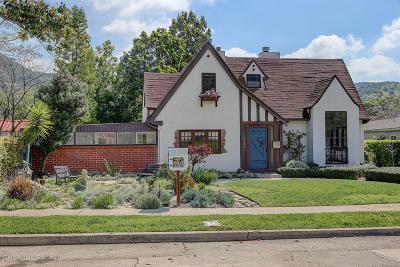 Glendale Single Family Home For Sale: 3050 Menlo Drive