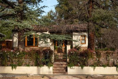 Pasadena Single Family Home Active Under Contract: 1462 Mentone Avenue