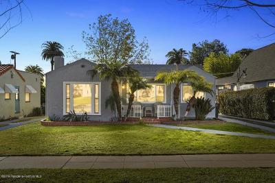 Pasadena Single Family Home Active Under Contract: 2174 Casa Grande Street