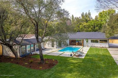 Pasadena Single Family Home Active Under Contract: 1261 Afton Street