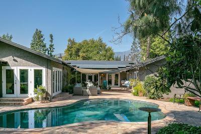 Pasadena Single Family Home For Sale: 2960 San Pasqual Street
