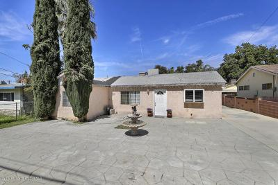 Sunland Single Family Home For Sale: 8441 Fenwick Street