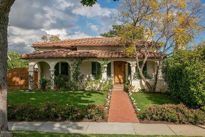Glendale Single Family Home Active Under Contract: 3536 Buena Vista Avenue