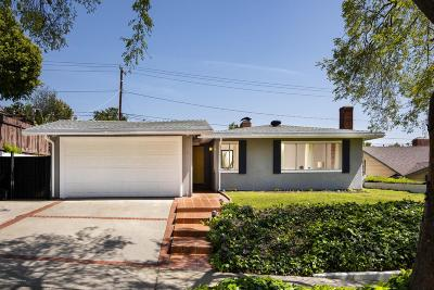 Pasadena Single Family Home Active Under Contract: 1180 Leonard Avenue