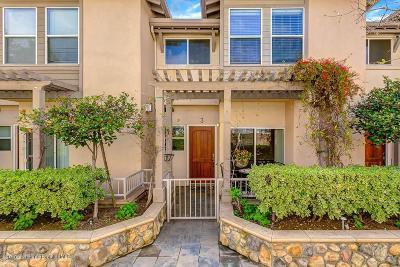 Pasadena Condo/Townhouse Active Under Contract: 690 South Marengo Avenue #3