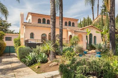 Glendale Single Family Home For Sale: 1329 Rossmoyne Avenue