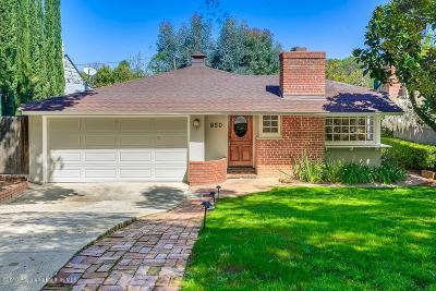 South Pasadena Single Family Home Active Under Contract: 850 Lyndon Street