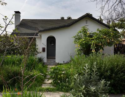 Altadena Single Family Home Active Under Contract: 494 Alberta Street