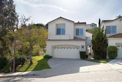 Glendale Single Family Home Active Under Contract: 953 Calle La Primavera