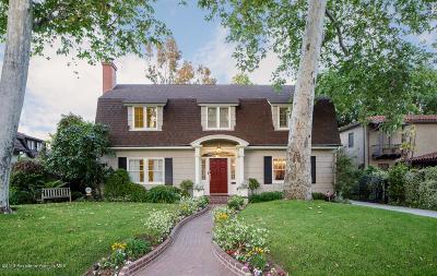 Pasadena Single Family Home For Sale: 420 South Greenwood Avenue