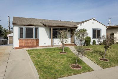 San Gabriel Single Family Home Active Under Contract: 1153 Anderson Way