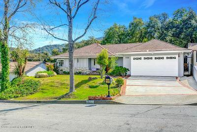 Glendale Single Family Home Active Under Contract: 3720 Cedarbend Drive
