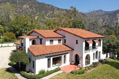 Altadena Single Family Home For Sale: 2626 Tanoble Drive
