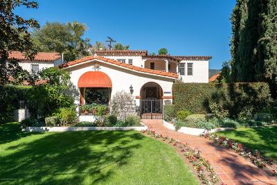Glendale Single Family Home Active Under Contract: 1355 East Mountain Street