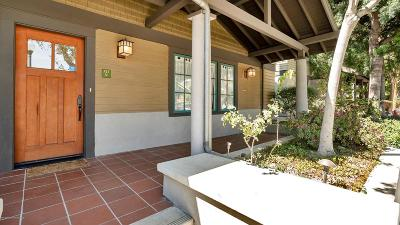 South Pasadena Condo/Townhouse Active Under Contract: 727 Meridian Avenue #V