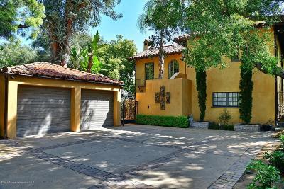 Pasadena Single Family Home For Sale: 788 South Grand Avenue