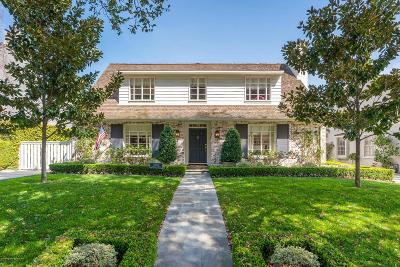San Marino Single Family Home Active Under Contract: 1840 Carlisle Drive