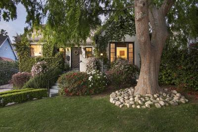 Altadena Single Family Home Active Under Contract: 385 West Marigold Street