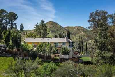 Tujunga Single Family Home Active Under Contract: 7415 Tranquil Drive
