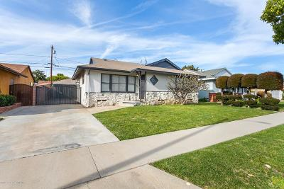 Long Beach Single Family Home Active Under Contract: 91 West Dameron Street