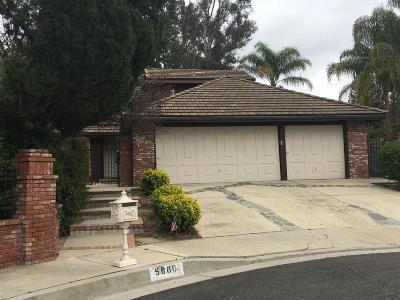 Agoura Hills Single Family Home Active Under Contract: 5800 Calmfield Drive