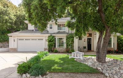 Monrovia Single Family Home For Sale: 26 Hidden Valley Road