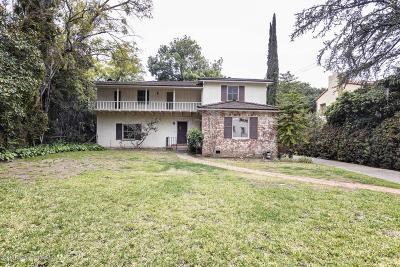 Pasadena Single Family Home Active Under Contract: 1340 East California Boulevard
