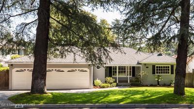 La Canada Flintridge Single Family Home Active Under Contract: 1932 Tondolea Lane