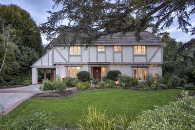 San Marino Single Family Home Active Under Contract: 1606 Virginia Road