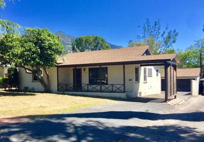 Altadena Single Family Home Active Under Contract: 1946 Allen Avenue